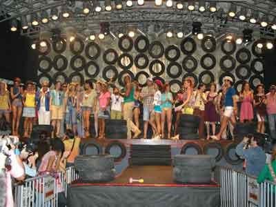 Fashion show at the Circo Voador, Rio de Janeiro, June 2006 Marcos Silva brazilmax.com