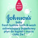 Kąpiel pełna piany z najnowszymi kosmetykami JOHNSON'S® Baby