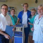 Laser Holmowy od Fundacji Aflofarmu dla szpitala w Pabianicach