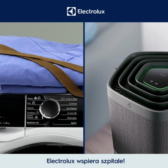 Electrolux pomaga polskim szpitalom Zdrowie, BIZNES - Do pomocy w walce z koronawirusem przyłączyła się firma Electrolux, przekazując swój sprzęt do szpitali.